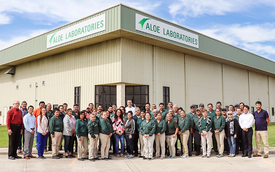 Aloe Laboratories Team