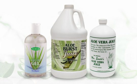 Aloe Vera Finished Products